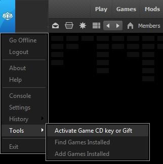 Activate Game CD Key or Gift