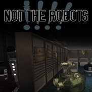 Not the robots   box art