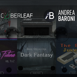 Game Audio Assets & Albums by Andrea Baroni