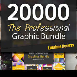 The Professional 20,000+ Graphic Asset Bundle