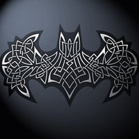 Celtic batman logo by helgivilberg