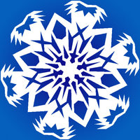 Snowflake avatar for music sites